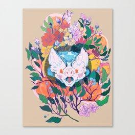 Morte anxiety Canvas Print