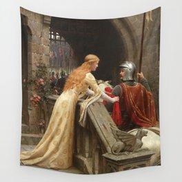 "Edmund Blair Leighton ""God Speed!"" Wall Tapestry"