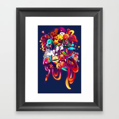 Nothing is what it seems Framed Art Print