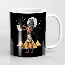 Thoth Egyptian God Ancient Pyramids Coffee Mug