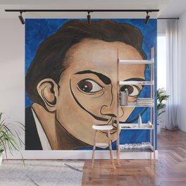Salvador Dalí portrait Wall Mural