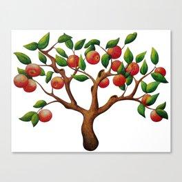 Tiny Apple Tree Canvas Print