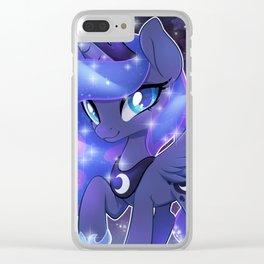 Princess Luna Clear iPhone Case