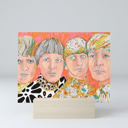 The Mop Tops John Ringo Paul George Mini Art Print
