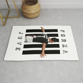 football player Rug