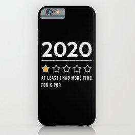 KPop Music 2020 Saying iPhone Case