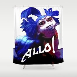 Allo! Shower Curtain