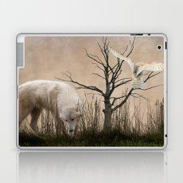 Woodland Wolf Laptop & iPad Skin