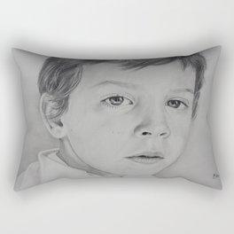 Childish or Child-like?  Rectangular Pillow