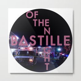 Bastille Of The Night Metal Print