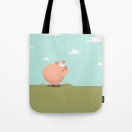 Feed the piggy Tote Bag