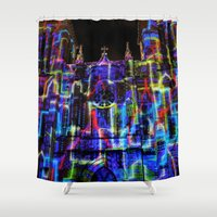saga Shower Curtains featuring The Saga: 2 by Roam Images