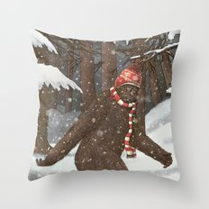 Everyone Gets Cold Throw Pillow