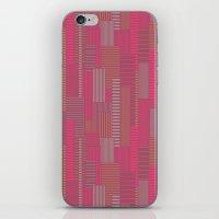 metropolis iPhone & iPod Skins featuring Metropolis by Kimsa