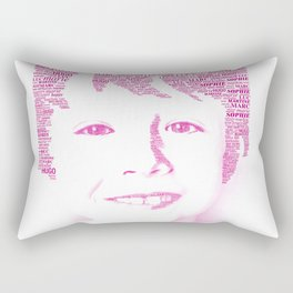 Pictagram anniversaire Rectangular Pillow