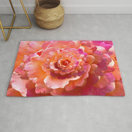 The Rose of Infinity Rug