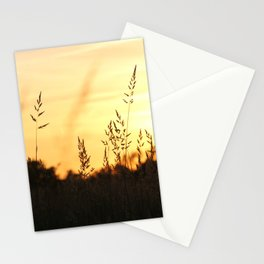 Sunset approaches Stationery Cards