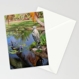 At the Pond Stationery Cards