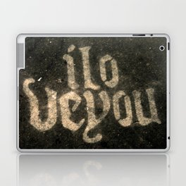 iloveyou Laptop & iPad Skin
