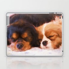 Sleeping Buddies Cavalier King Charles Spaniels Laptop & iPad Skin