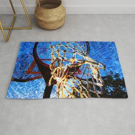 Basketball artwork 171 Rug