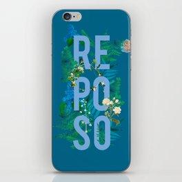 Reposo iPhone Skin