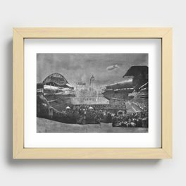 GO BOMBERS Recessed Framed Print