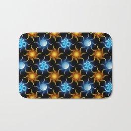 Cosmic Om. Pattern Bath Mat