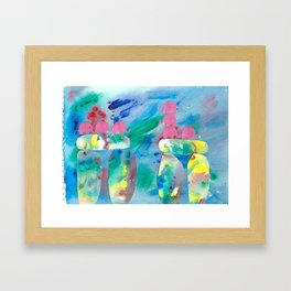 10 Penny the Pink Elephant Framed Art Print