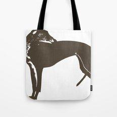 Greyhound Dog Tote Bag