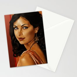 Girl with a Shiny Earring Stationery Cards