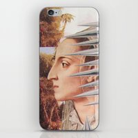 iron maiden iPhone & iPod Skins featuring Laura The Iron Maiden by MELANCHOLIE (mit MONSTERN)