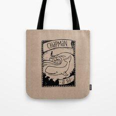 Chapman at Sea Tote Bag