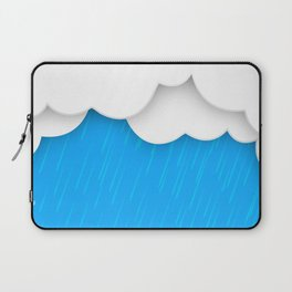 Abstract 3D Rain Laptop Sleeve