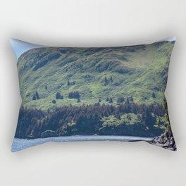 North Sister Photography Print Rectangular Pillow