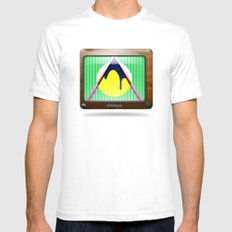 Kaleidoscope TV version B White Mens Fitted Tee SMALL