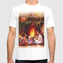 Christmas in vintage style T-shirt