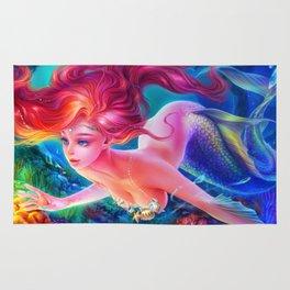 Sleepless Nights-Ariel, the Little Mermaid Rug