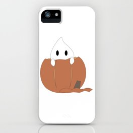 Peekaboo Ghost iPhone Case