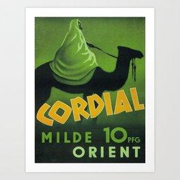 Vintage poster - Orient Art Print
