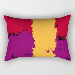The resistence of Art. Color is freedom. Rectangular Pillow