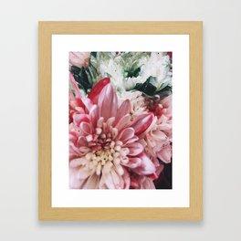 Glitter Bouquet Framed Art Print