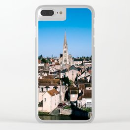 French village Clear iPhone Case