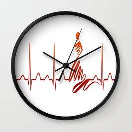 SUPERMODEL HEARTBEAT Wall Clock