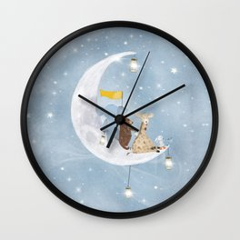 starlight wishes with you Wall Clock