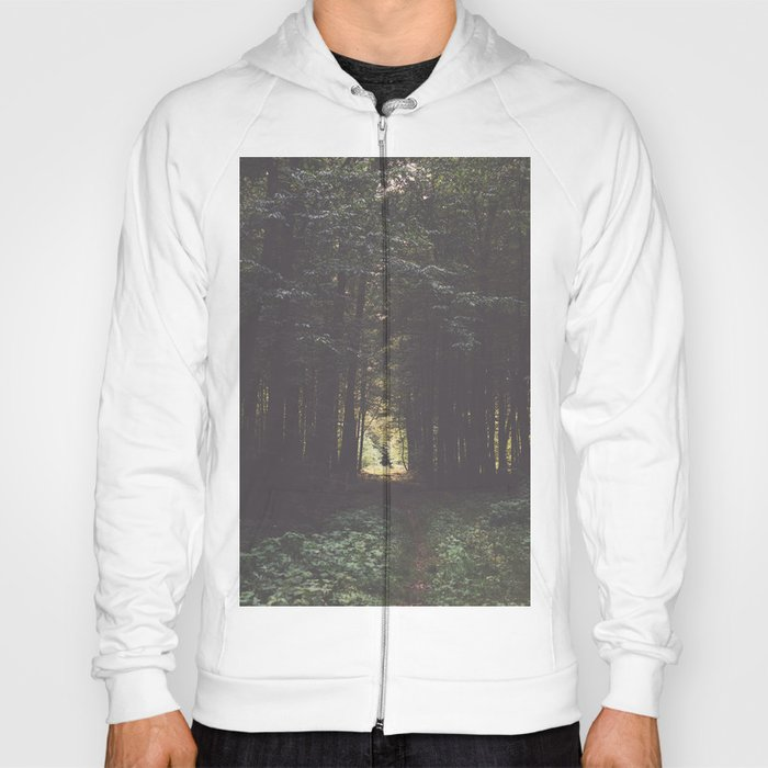 Never give up - Landscape and Nature Photography Hoody