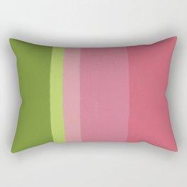 Abstract Watermelon Rectangular Pillow