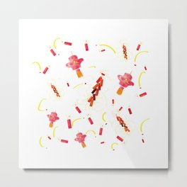 Chinese Spring Festival Metal Print