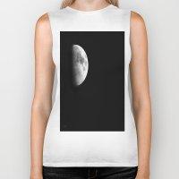 dark side of the moon Biker Tanks featuring Dark Side of the Moon by Catherine1970