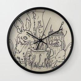 Drink me Wall Clock